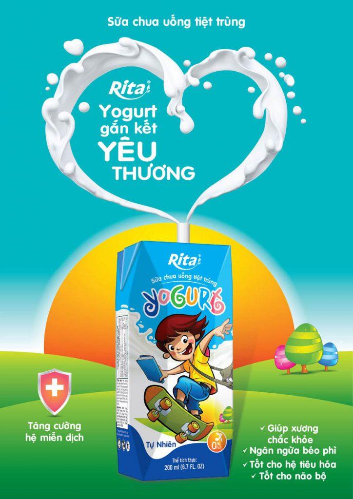 Sữa tươi tiệt trùng Yogurt
