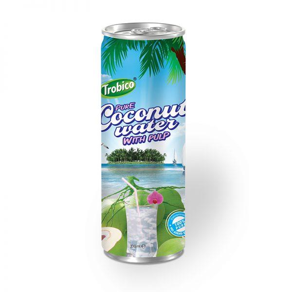Nước dừa tươi lon cao 330ml