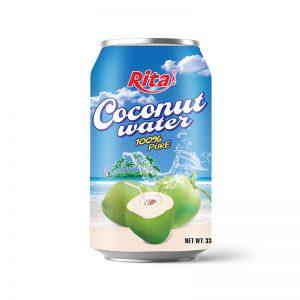 Nước dừa tươi nguyên chất 330ml