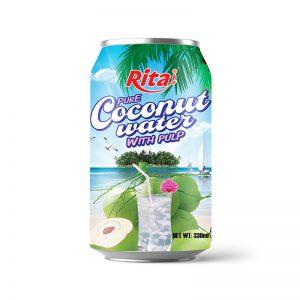 Nước dừa tươi xiêm xanh 330ml