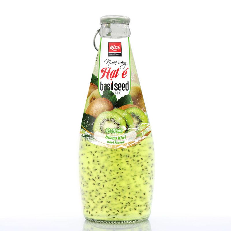 nước uông hạt é hương kiwi 290ml
