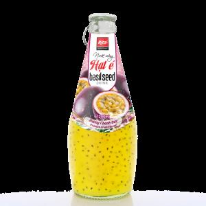 nước hạt é hương vị chanh dây 290ml