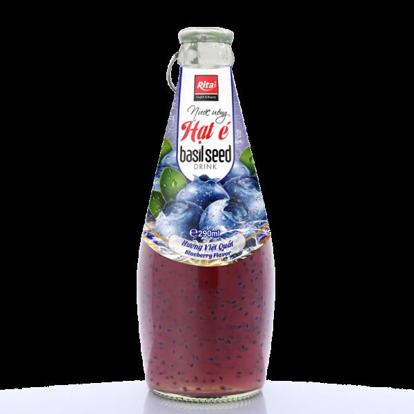 nước uống hạt é hương vị việt quất 290ml