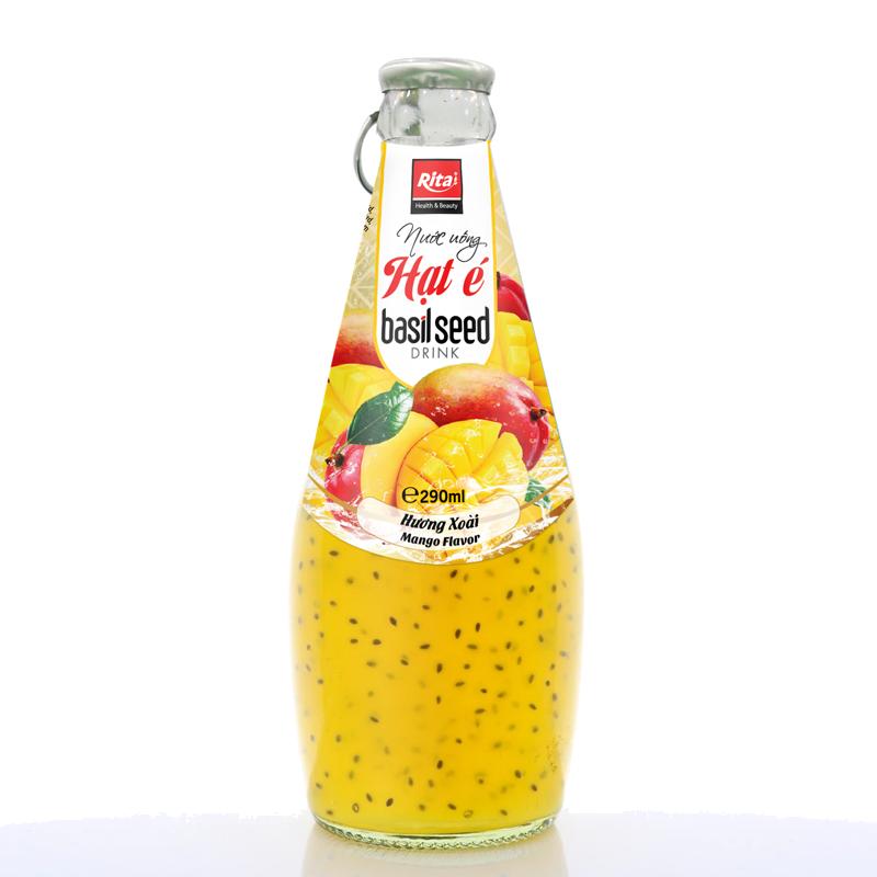 nước uống hạt é hương vị xoài 290ml