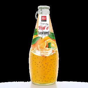 nước uống hạt é vị cam 290ml