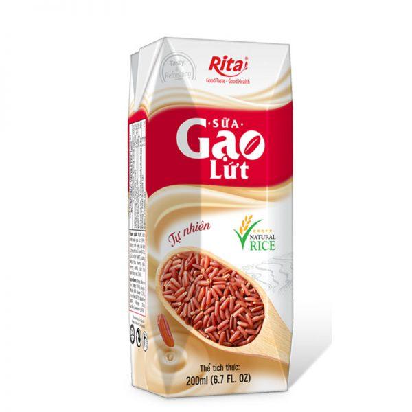 sữa gạo lức đóng hộp 200ml