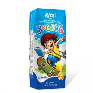 Sữa chua tiệt trùng Yogurt hộp 200ml