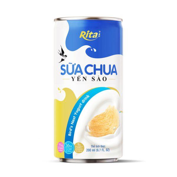 sữa chua yến sào yogurt đóng lon 200ml