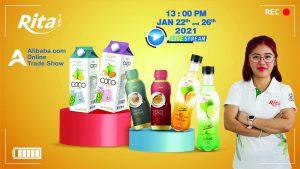 RITA - The leading Beverage Manufacturer in VietNam - Livestream Alibaba