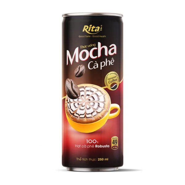 cà phê mocha 100% hạt cà phê Robusta